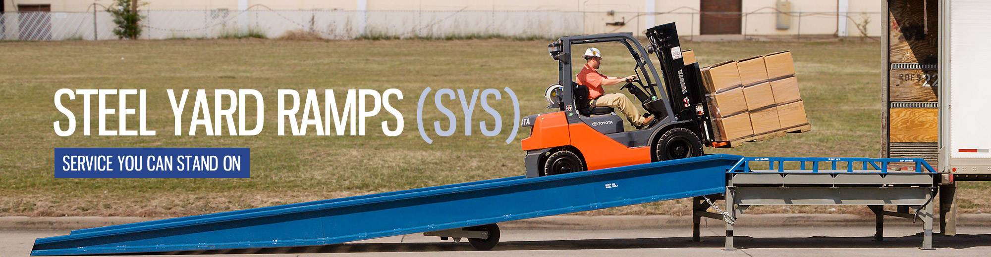 Loading Ramps | Yard Truck Ramps | Portable Docks - Ramps made in the USA with Delivery available overnight!